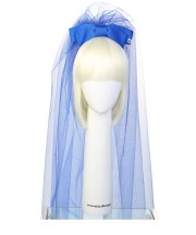 hens veil_electric blue