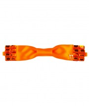 Block Bow Down (10mm)_Tangerine