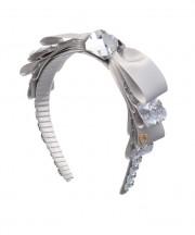 Metallic Silver Shell Grey