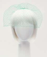 Birdcage Veil - Emerald