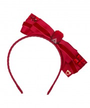 Kuching Cat Side Bow - Red