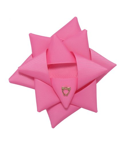Surprise Bow Big - Hot Pink