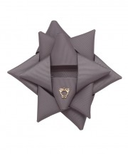 Surprise Bow Big - Metal Grey
