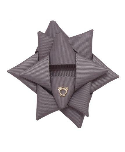 Surprise Bow Big - Metal Grey