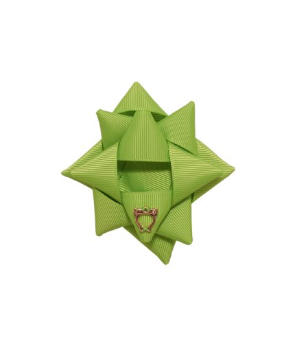 Surprise Bow Small - Apple Green