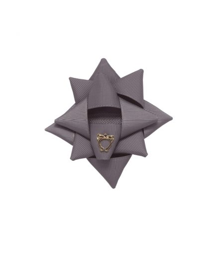 Surprise Bow Small - Metal Grey