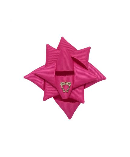 Surprise Bow Small - Shocking Pink