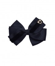 Baby Bow Clip Extra Large - Black