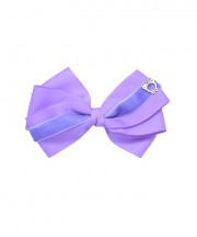 Baby Bow Clip Extra Large - Hyacinth