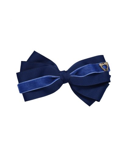 Baby Bow Clip Extra Large - Light Navy