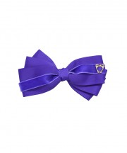 Baby Bow Clip Extra Large - Regal Purple