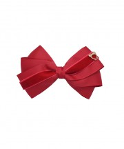 Baby Bow Clip Extra Large - Scarlet