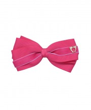 Baby Bow Clip Extra Large - Virtual Pink