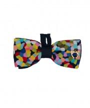 Kids Eton Bow Tie - Confetti RM53