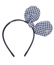 Adult Bunny Bow - Black