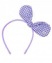 Adult Bunny Bow - Light Purple