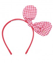 Adult Bunny Bow - Red
