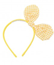 Adult Bunny Bow - Yellow