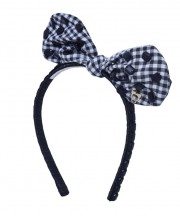 Adult Fancy Bunny Bow - Black