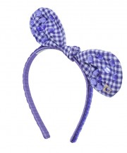 Adult Fancy Bunny Bow - Light Purple