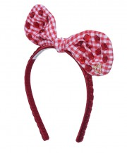 Adult Fancy Bunny Bow - Red