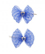 Baby Birdcage Hair Grip - Royal