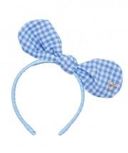 Baby Bunny Bow - Bluebird