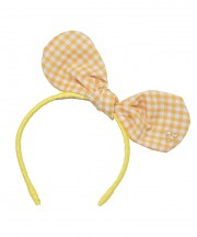 Baby Bunny Bow - Lemon