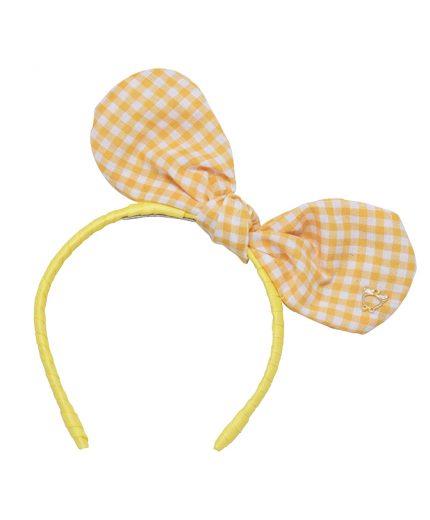 Baby Bunny Bow - Lemon