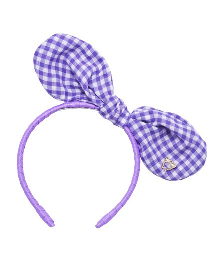Baby Bunny Bow - Light Purple