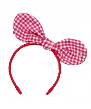 Baby Bunny Bow - Red