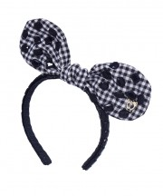 Baby Fancy Bunny Bow - Black