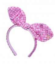 Baby Fancy Bunny Bow - Light Pink