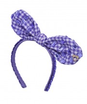 Baby Fancy Bunny Bow - Purple