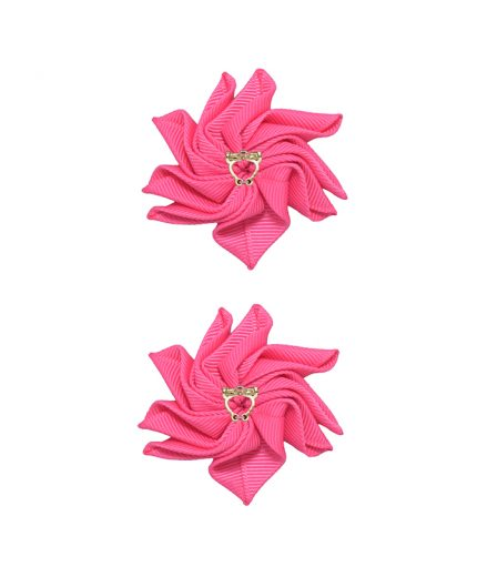 Baby Floral Clips - Camelia Rose