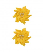 Baby Floral Clips - Daffodil
