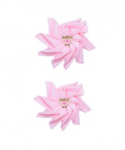 Baby Floral Clips - Light Pink