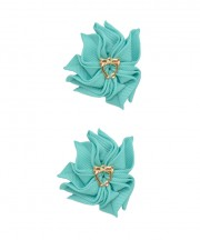 Baby Floral Clips - Tropic