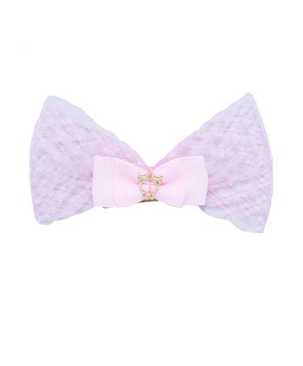 Baby Lolita Bow Clip - Light Pink