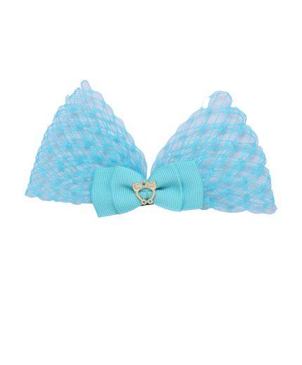 Baby Lolita Bow Clip - Tropic