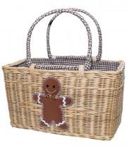 Basket - Gingerbread