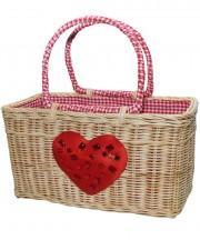Basket - Heart