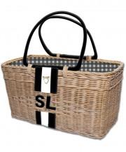 Monogram Basket - Black2