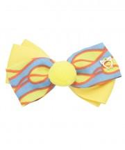 Circus Bow Clip - Daffodil