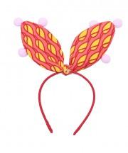 Circus Bunny Ears - Red