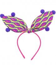 Circus Bunny Ears - Shocking Pink