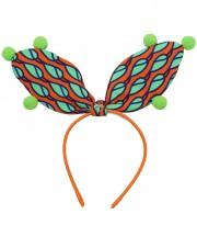 Circus Bunny Ears - Tangerine
