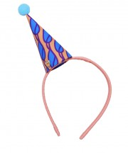 Circus Party Hat - Peach