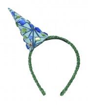 Nala Mini Party Hat Love Lattice Green & Blue