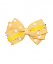 baby-bow-clip-xl-polka-yellow